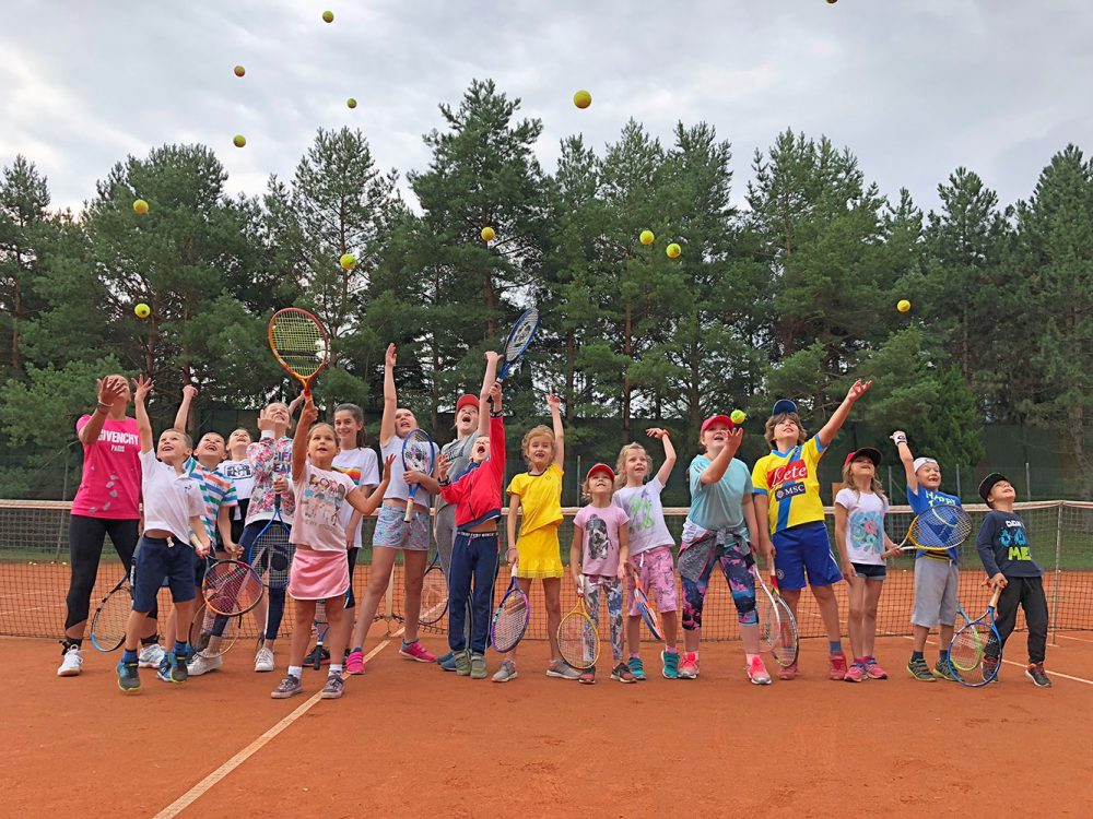 5. Ročník Tennis Camp 2018 – 1. turnus